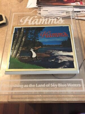 Vintage Hamms Beer Sign Lighted Bear Bar