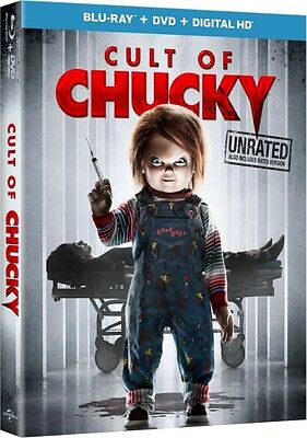 Cult of Chucky: Possessed Doll Horror Movie Box / BluRay Set NEW!