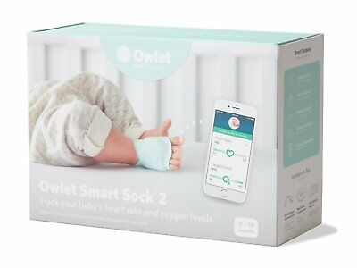Owlet Smart Sock 2 - Baby Monitor - New In Box - SHIPS FREE!!!