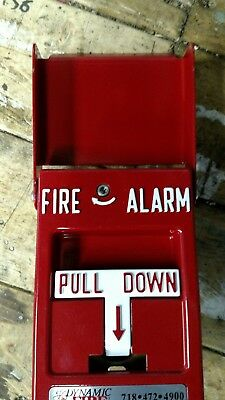 Dual Action Fire Alarm Pull Station Quantity Avail