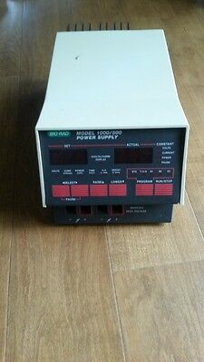 BioRad Model 1000 / 500 Electroporesis Power Supply, Nice & Working, GE Hoefer