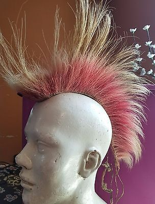 Vintage Traditional Native American Porcupine Roach Headdress Collector's  Item