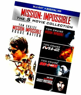 Mission: Impossible: The 5 Movie Collection [Blu-ray] [2017]