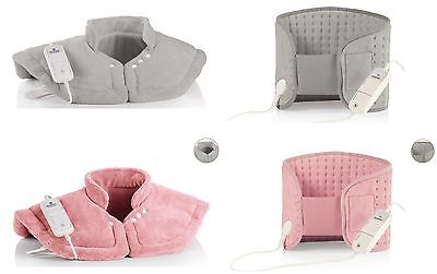 New Sivercrest Personal Care Stomach & Back Heating Pad and Shoulder Heating Pad