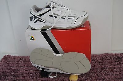 Taylor Mercury Trainer White/Grey Men's Bowls Shoes