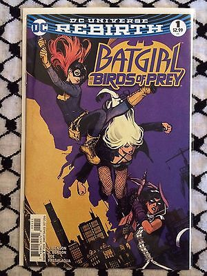 """Batgirl and the Birds of Prey #1 (Cover B) """"Who is Oracle?"""" pt.1 (DC 2016)"""