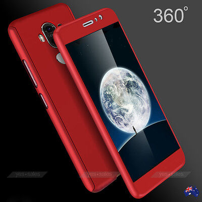Ultra Thin 360° Full Cover PC Matte Shockproof Case Cover for Huawei P9 Mate 9