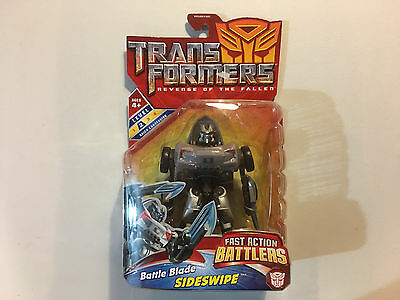 Transformers Revenge of the Fallen Battle Blade Sideswipe Figure 2008 Brand New