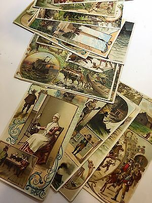 Vintage Victorian trade cards, Arbuckle Bros. lot of 27 U.S. states, some double