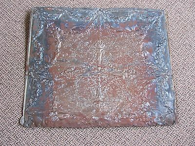 Antique Vintage Metal/Tin Ceiling Tile Reclaimed Salvage Repurpose Architectural