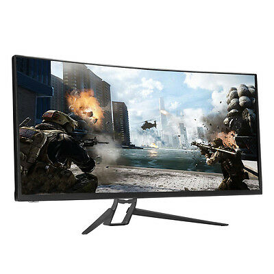 """[Perfect] Crossover UW3535 TIO HDR Boost Clock 120Hz 35"""" Curved Gaming Monitor"""