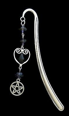 ~ Witch, Wiccan, Wicca, Pentagram, Magic, Magic Metal Bookmark ~