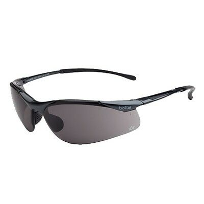 Bolle Sidewinder Safety Glasses Smoke Lens *BRAND NEW*