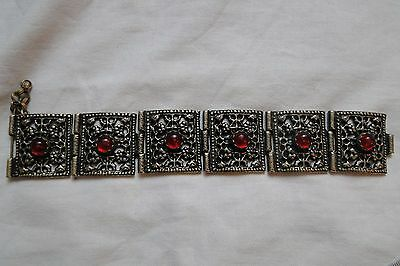 Аntique  Beautiful Ottoman Ethnic Folklore Woman Bracelet 19th century K 6