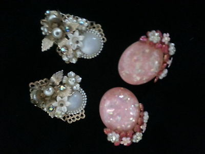 vintage clip earring