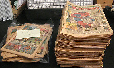 Wow! Lot of *72* Coverless 1960s Marvels! X-Men/FF/Aveng/Thor/JIM *EARLY ISSUES*