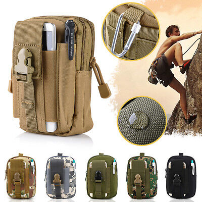Tactical Waist Pack Belt Bag Camping Outdoor Military Molle Hiking Pouch Wallet