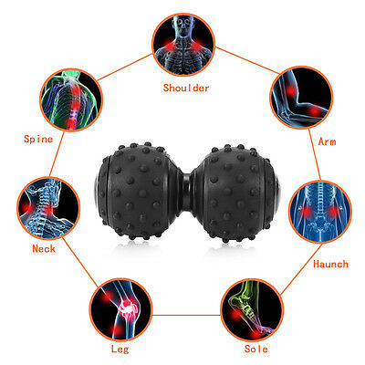 Double Lacrosse Ball Moving Myofascial Trigger Point Release Particle  Massage J
