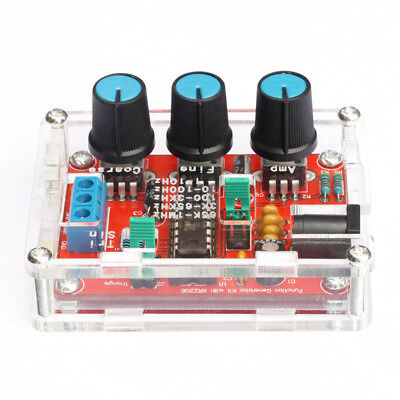 XR2206 Function Signal Generator DIY Kit Sine,Triangle,Square Output 1HZ-1MHZ