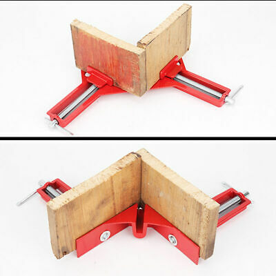 Aluminum Alloy 90° Corner Clamp Right Angle Fixed Clip for Framing Wood Working