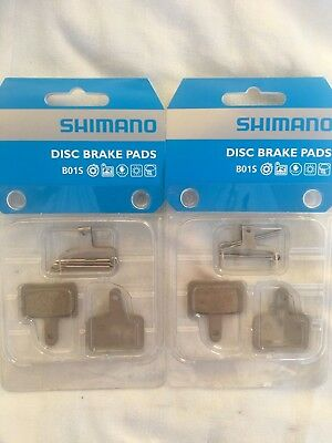 2 Sets Shimano Disc Brake Pads Resin B01S M515 M416 M525 M465 M575 M495  **New**