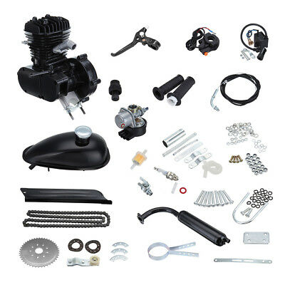 80cc 2-Stroke Motorized Gas Petrol Motor Bicycle Bike Engine Kit 2.5Kw/5000r/min
