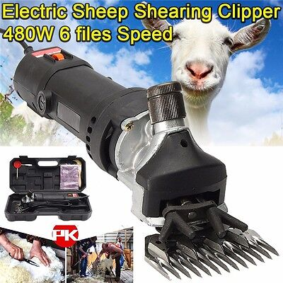 220V 480W Electric Sheep Clipper Shears Shear Tool Goats Alpaca Farm Shearing
