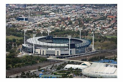 Melbourne MCG 2010 1st view modern digital Photo Postcard