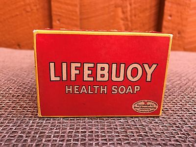 Vintage Unused in Box LIFEBUOY HEALTH SOAP - Pictures and Quotes