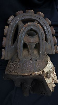 "orig $299-IGBO RITUAL MASK, EARLY 1900S REAL 22"" PROV."