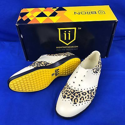 BIION Golf shoese Oxford Patterns leo 1036 FEEL THE DIFFERENCE