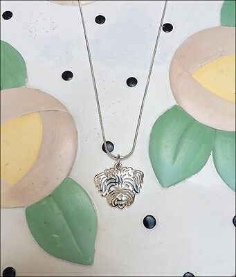 Maltese Charm Necklace - New - FREE SHIPPING