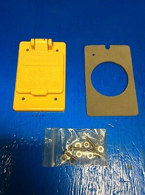 Kussmaul Weatherproof Cover For Auto Eject Yellow New 09173Yw