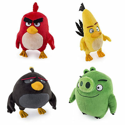 Buy 1 Get 1 50% OFF (add 3 to cart) ANGRY BIRDS Plush Set / 8  & Singles