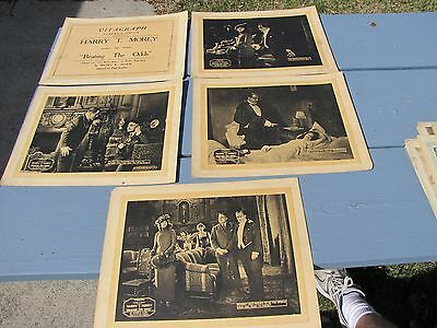 Lot Of 5 Harry T Morey Betty Blythe Beating The Odds Movie Lobby Cards Posters