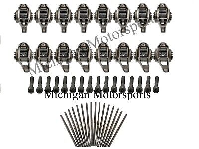 LS3 Rocker Arms - With Updated Trunions and Brian Tooley 7.400 Pushrods BTR