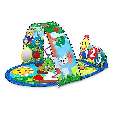 Baby Einstein Caterpillar Kickin' Tunes BABY ACTIVITY GYM, Colourful PLAY MAT