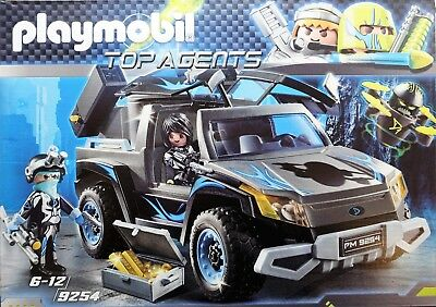 Playmobil 9254 Top Agents Dr. Drone Pick-up  NEU & OVP