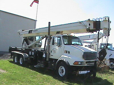Cranes and Boom Truck--Slightly Used