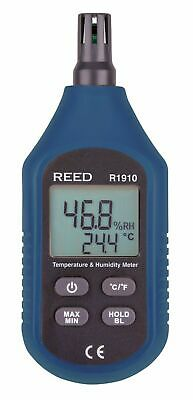 REED R1910 Temperature & Humidity Meter. Thermo-Hygrometer