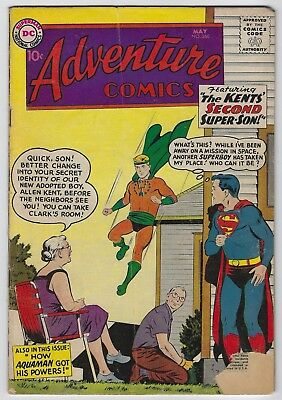 Adventure Comics #260 (1959, DC) Origin of Aquaman, Curt Swan, Bernstein, VG/VG+