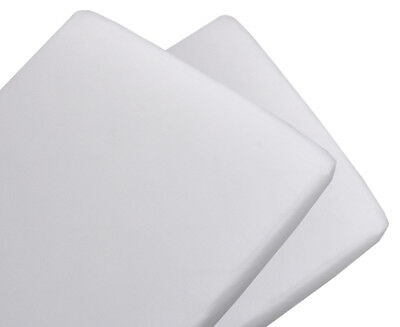 Living Textiles Change Mat Cover 2-Pack - White