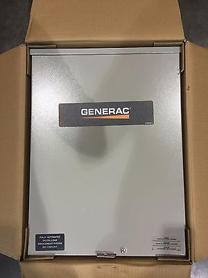 Generac RTSC100A3 100 Amp Non-Service Rated SP Automatic Transfer Switch NEMA 3R