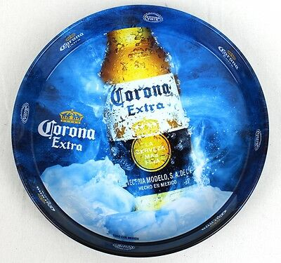 "Genuine New Corona Extra Drinks Beer Tray New Mexican Kitcsh Decor ""extra Fria"""