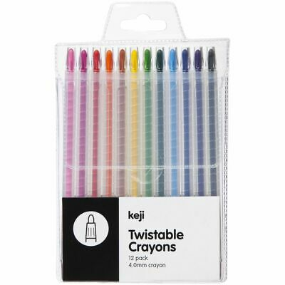 Keji Twistable Crayons 12 Pack