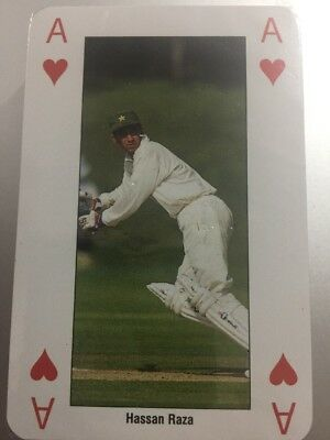 ICC Cricket World Cup England 99 Playing Cards Pakistan Team. Sealed & Boxed