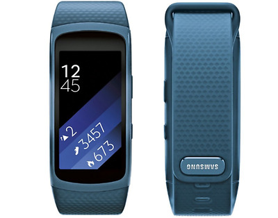 NEW SEALED Samsung Gear Fit2 SM-R360 Smartwatch Watch GPS Sports Band Blue Small