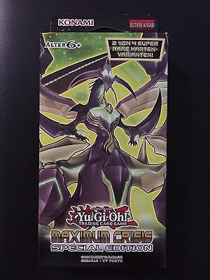 YUGIOH!! Maximum Crisis Special Edition! NEU&OVP! Deutsch!