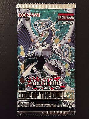 YUGIOH!! Code Of The Duelist Booster! NEU&OVP! Deutsch! 1. Auflage!