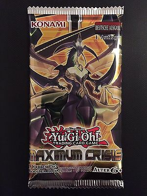 YUGIOH!! Maximum Crisis Booster! NEU&OVP! Deutsch! 1. Auflage!